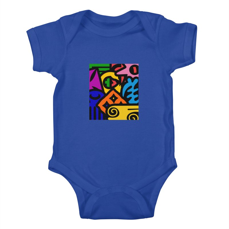Adinkralors Kids Baby Bodysuit by Threaska