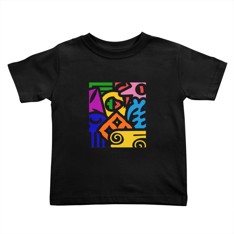 Adinkralors Kids Toddler T-Shirt by Threaska