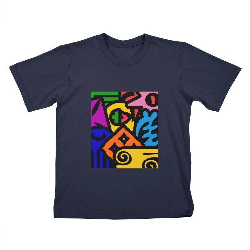 Adinkralors Kids T-Shirt by Threaska