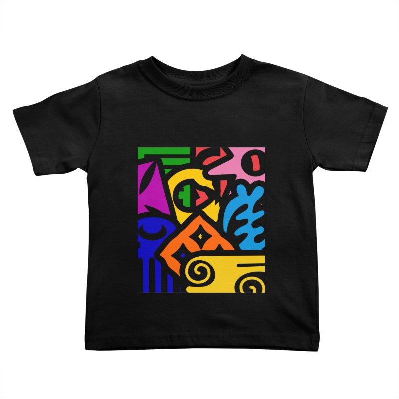 Adinkralors Kids Toddler T-Shirt by Threaska