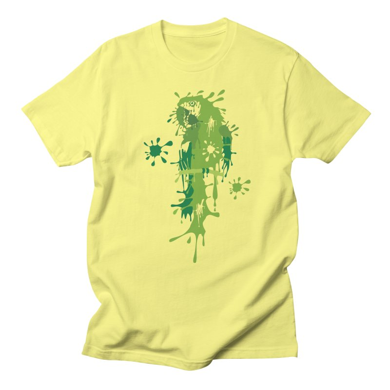 Parrot Splash Men's T-shirt by Threaska