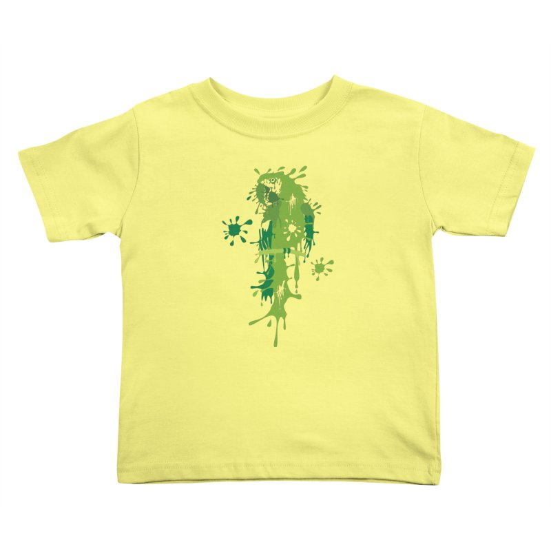 Parrot Splash Kids Toddler T-Shirt by Threaska