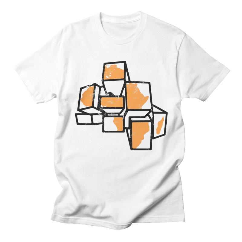BreakTru Afrique in Men's Regular T-Shirt White by Threaska