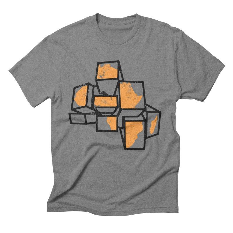 BreakTru Afrique Men's Triblend T-Shirt by Threaska