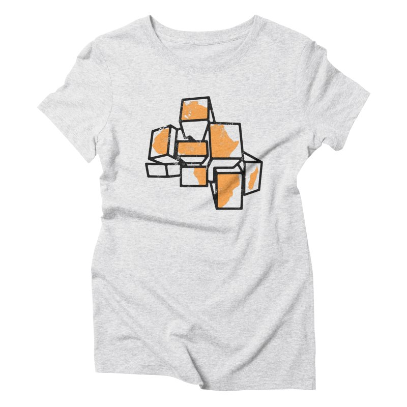 BreakTru Afrique Women's Triblend T-Shirt by Threaska