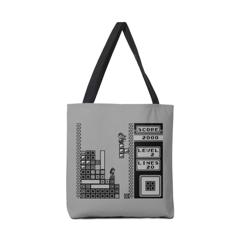 8-Bit Love Accessories Bag by Threaska