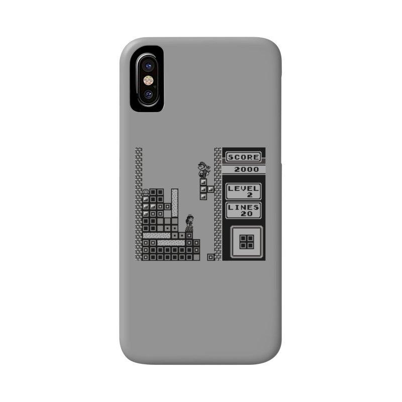 8-Bit Love Accessories Phone Case by Threaska
