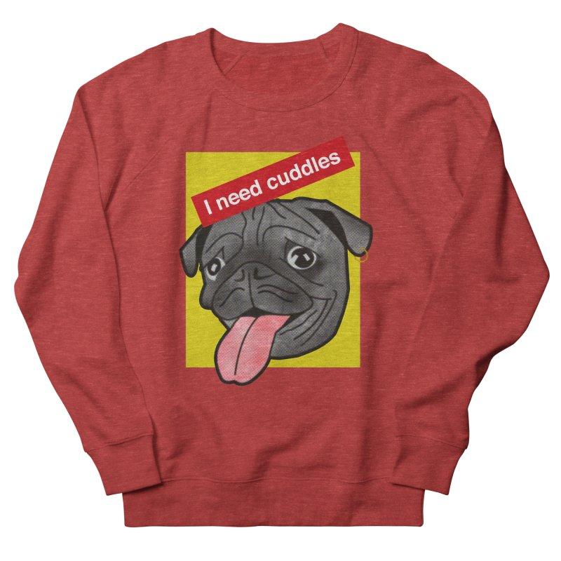 Cuddles Women's French Terry Sweatshirt by Threaska