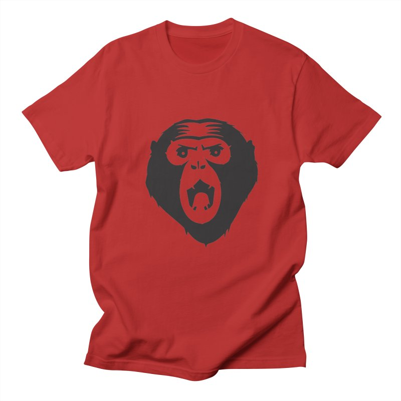 Angry Ape Men's T-shirt by Threaska
