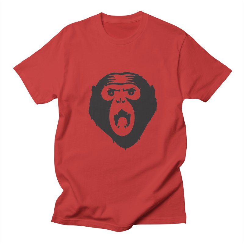 Angry Ape Men's T-shirt by Threaska