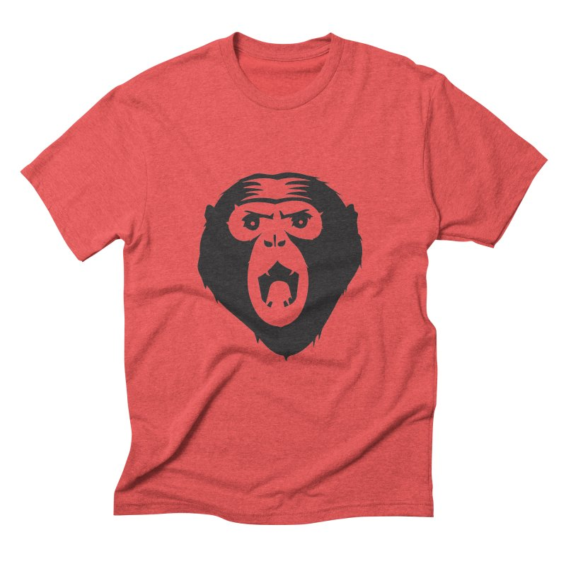 Angry Ape Men's Triblend T-Shirt by Threaska