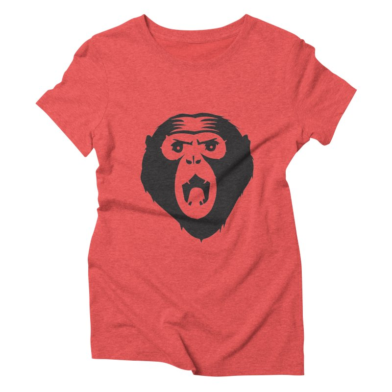 Angry Ape Women's Triblend T-shirt by Threaska