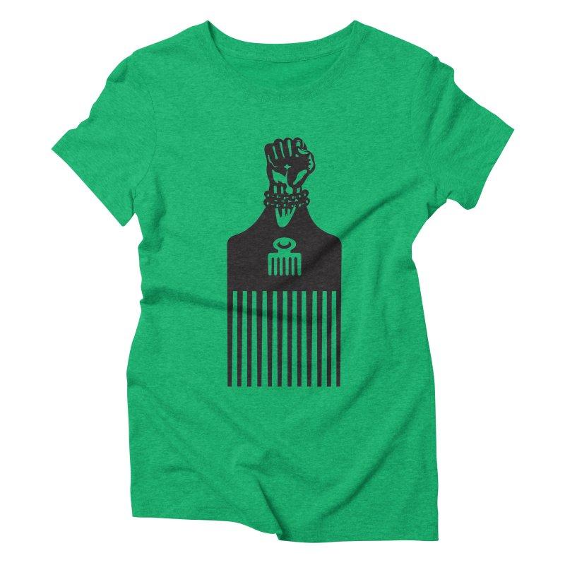 A Man's World Women's Triblend T-Shirt by Threaska