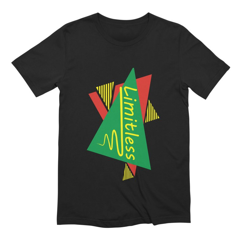 Limitless Men's Extra Soft T-Shirt by Threaska