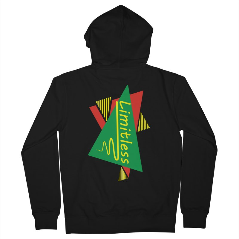 Limitless Men's French Terry Zip-Up Hoody by Threaska