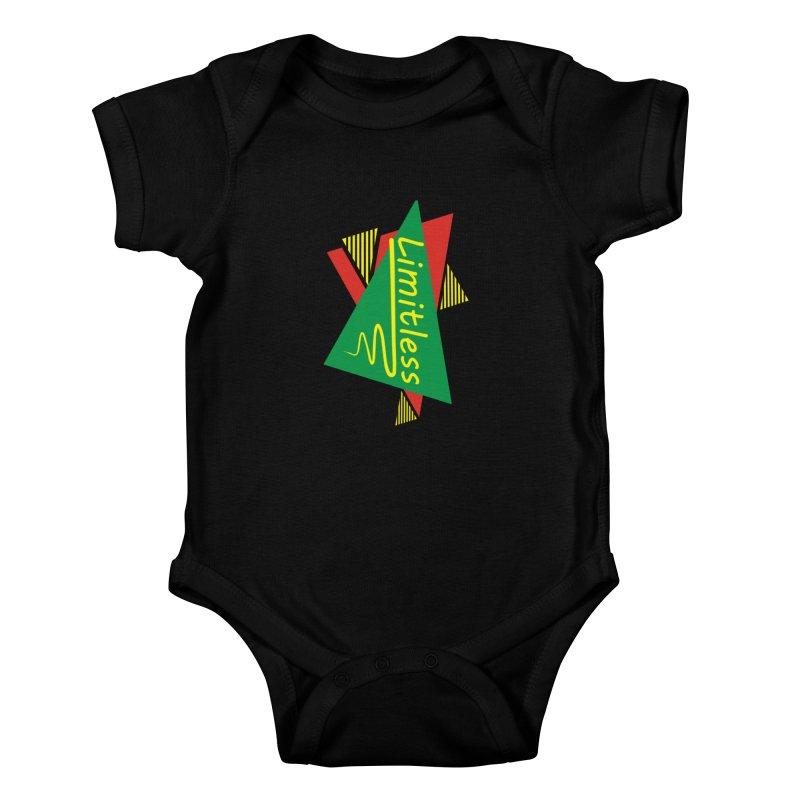 Limitless Kids Baby Bodysuit by Threaska