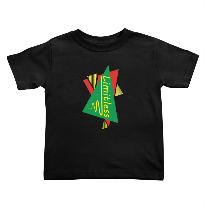 Limitless Kids Toddler T-Shirt by Threaska