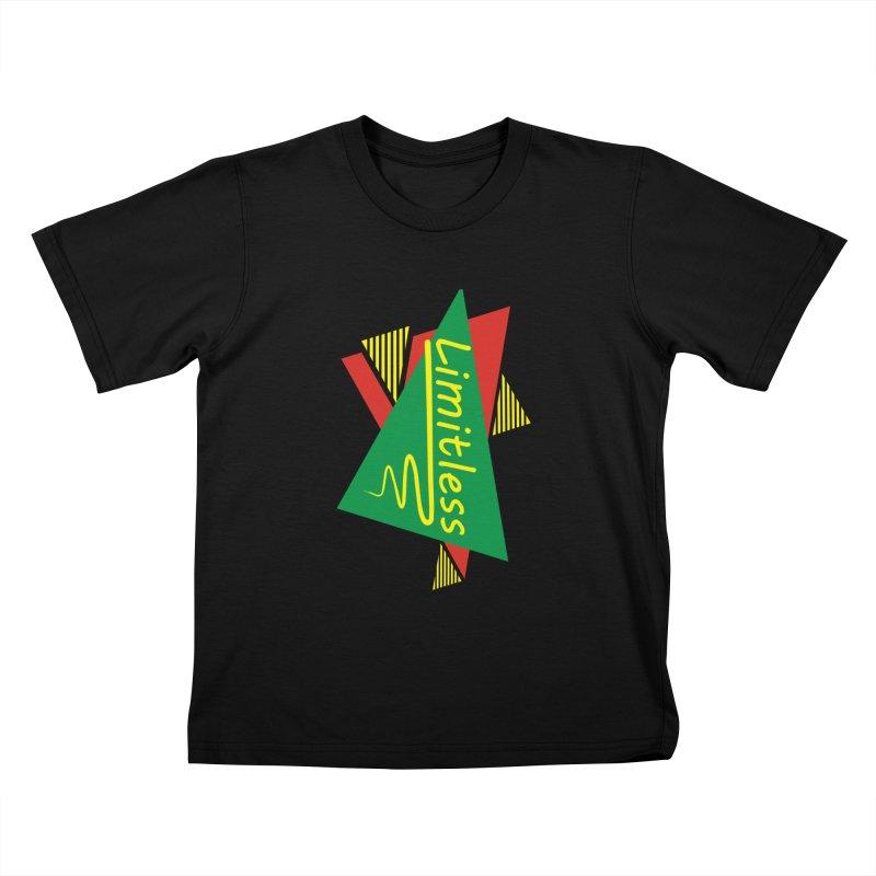 Limitless Kids T-Shirt by Threaska