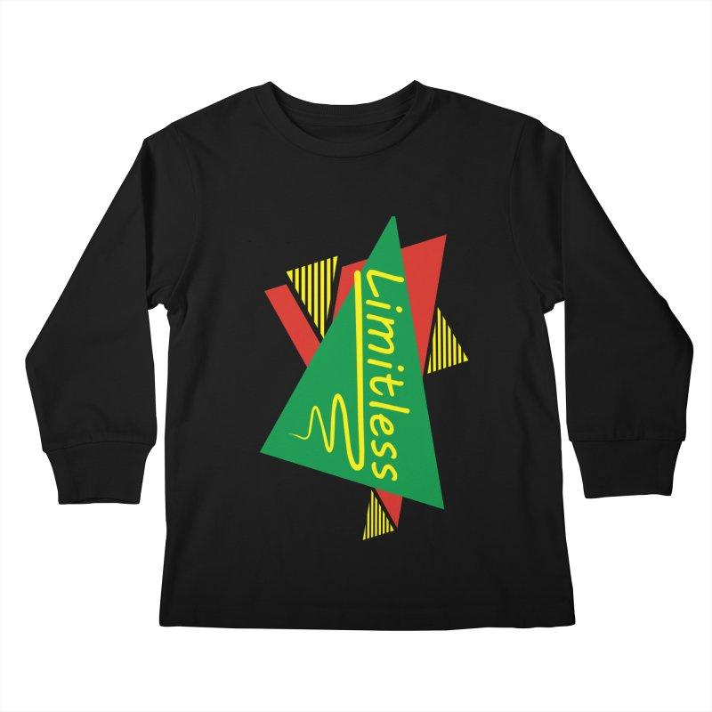 Limitless Kids Longsleeve T-Shirt by Threaska