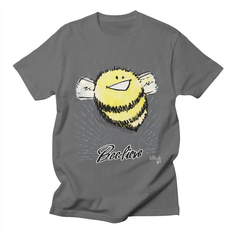 Bee-lieve! Men's T-Shirt by threespirited's Artist Shop