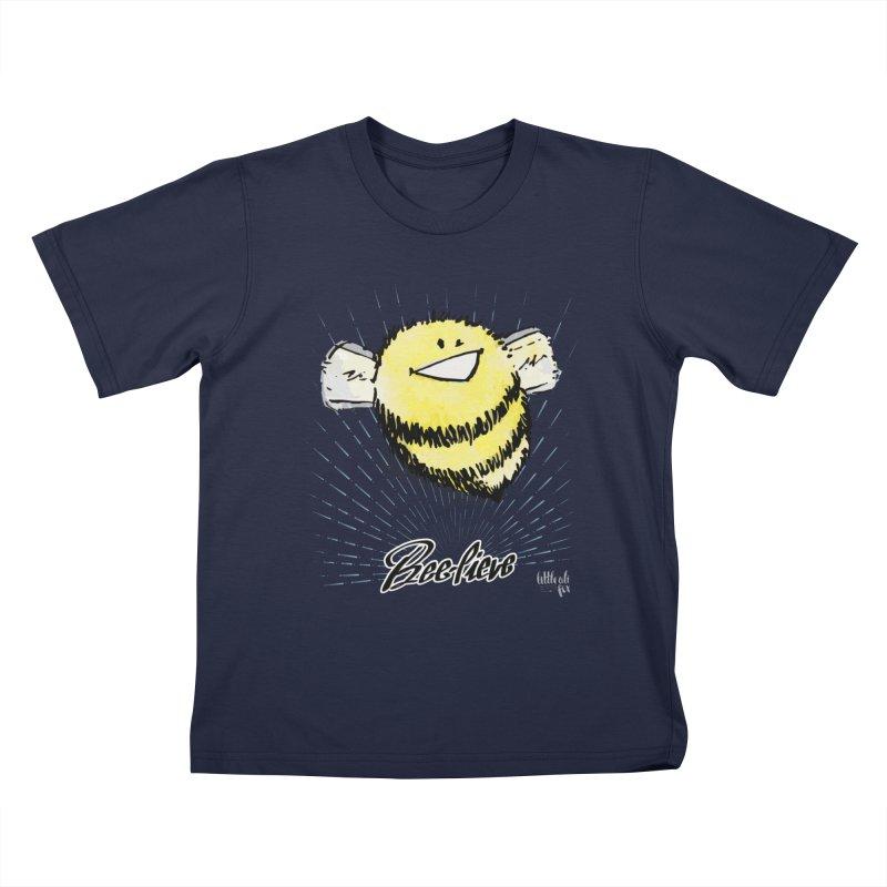 Bee-lieve! Kids T-Shirt by threespirited's Artist Shop