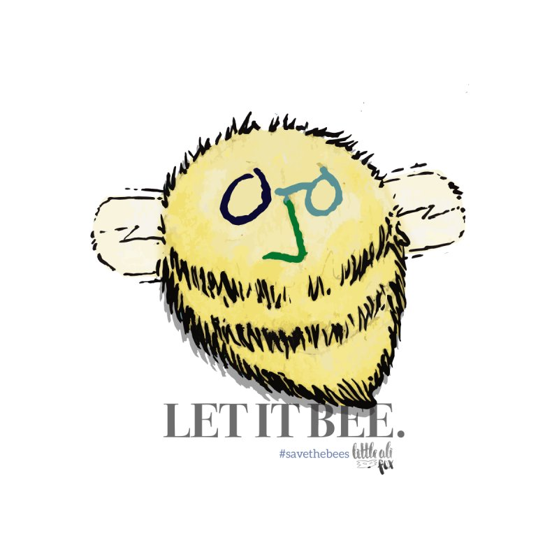 Let It Bee. Kids Toddler Pullover Hoody by threespirited's Artist Shop