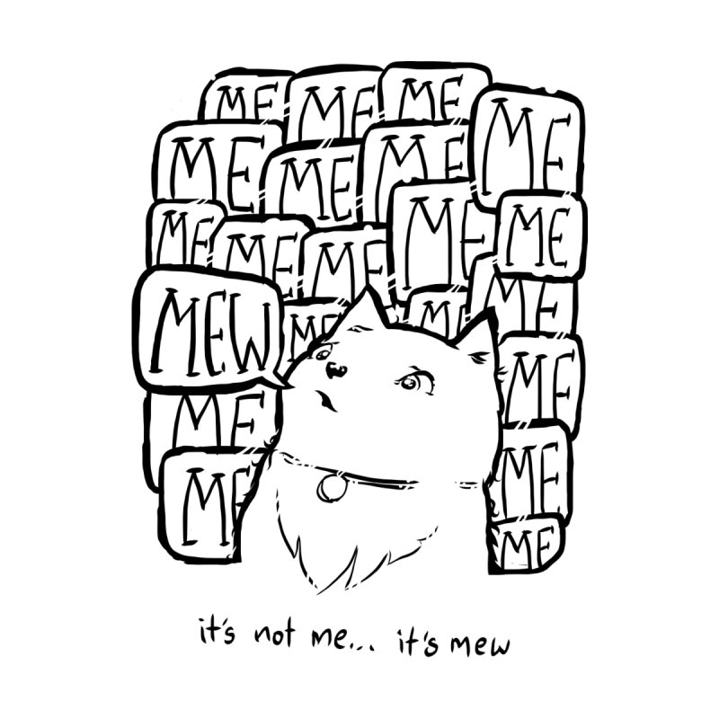 Mew. None  by threespirited's Artist Shop