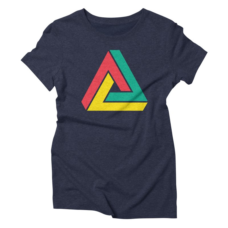 Impossibility in its Purest Form Women's Triblend T-shirt by Threestarchina