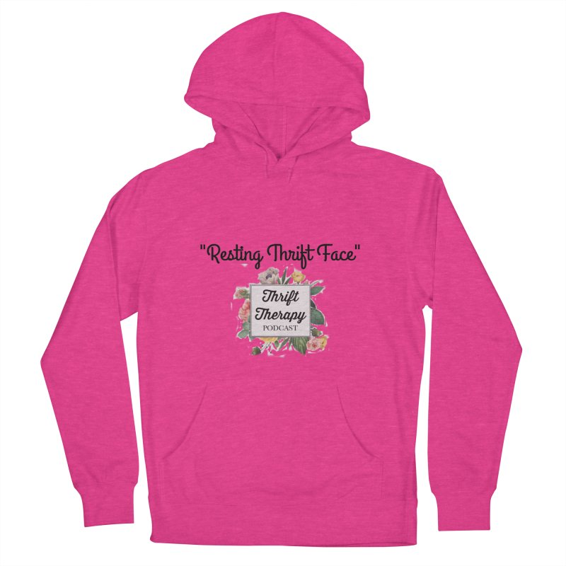 RestingThrift Face Women's French Terry Pullover Hoody by thrifttherapypod's swag