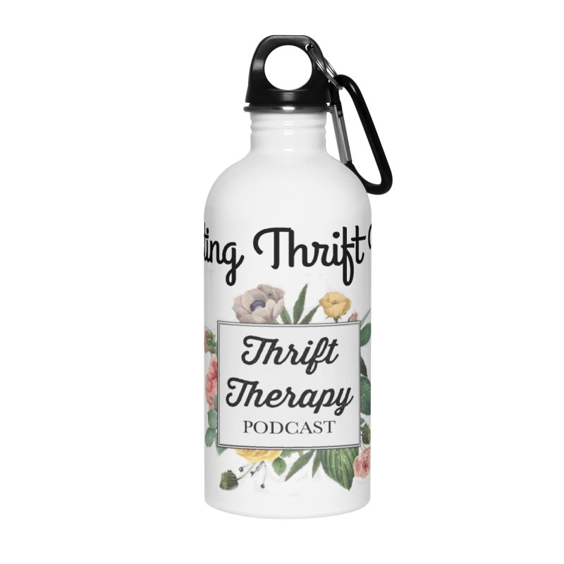 RestingThrift Face Accessories Water Bottle by thrifttherapypod's swag
