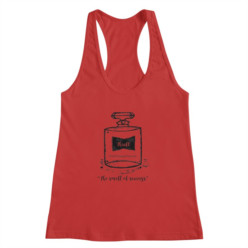 Smell of savings Women's Racerback Tank by thrifttherapypod's swag
