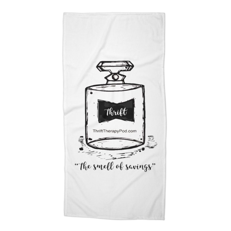 Smell of savings Accessories Beach Towel by thrifttherapypod's swag