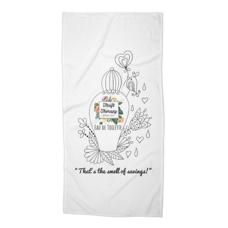Smells Too Accessories Beach Towel by thrifttherapypod's swag