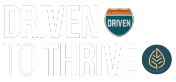 Driven to Thrive Merch Shop Logo