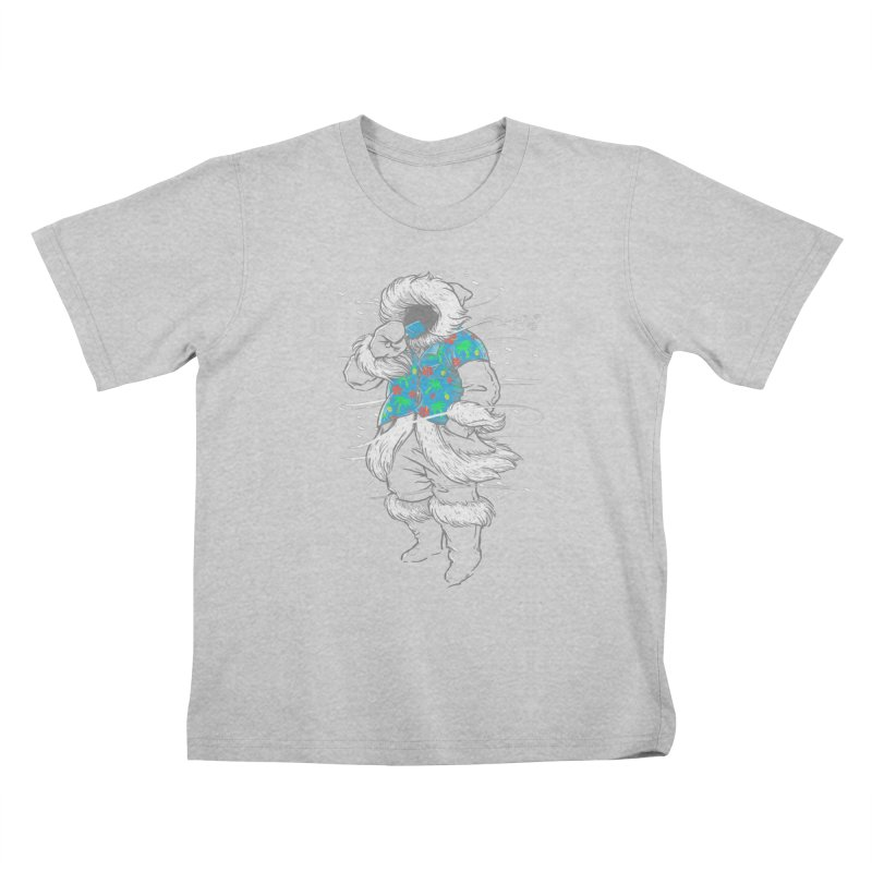 Heat Wave Kids T-Shirt by thunderpeel