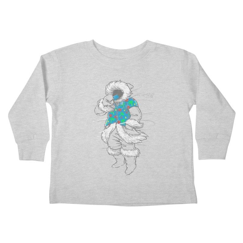 Heat Wave Kids Toddler Longsleeve T-Shirt by thunderpeel