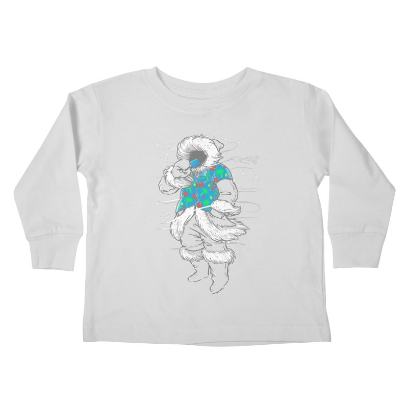 Heat Wave Kids Toddler Longsleeve T-Shirt by thunderpeel