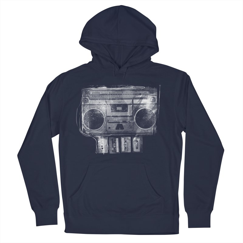 Doom Box Men's French Terry Pullover Hoody by thunderpeel