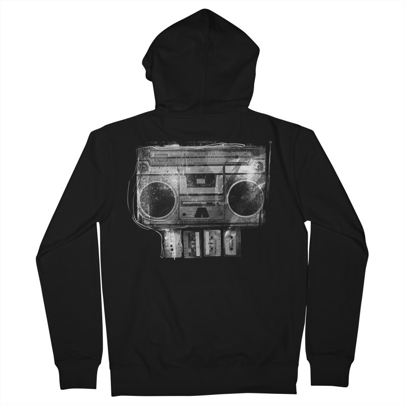 Doom Box Men's French Terry Zip-Up Hoody by thunderpeel