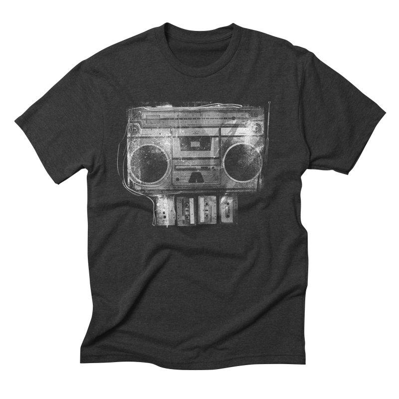 Doom Box Men's Triblend T-Shirt by thunderpeel