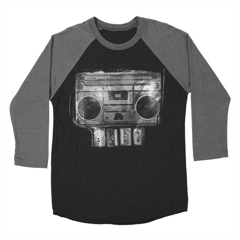 Doom Box Women's Baseball Triblend Longsleeve T-Shirt by thunderpeel