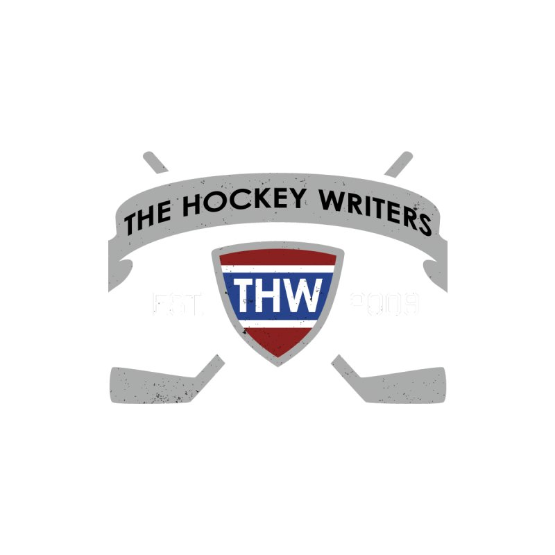 THW Hockey Sticks Logo - dark items Women's Longsleeve T-Shirt by The Hockey Writers