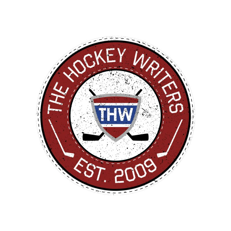 The Hockey Writers round logo - dark items Men's T-Shirt by The Hockey Writers