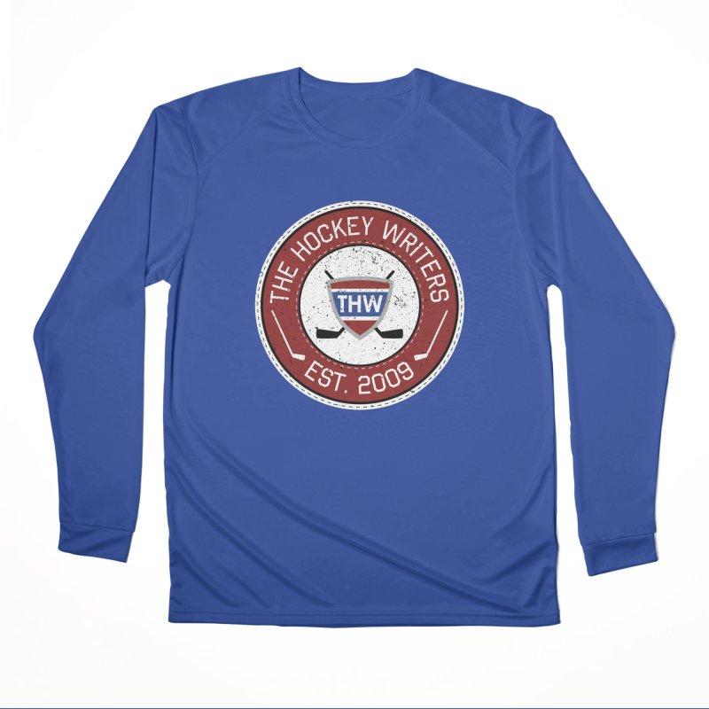 The Hockey Writers round logo - dark items Men's Performance Longsleeve T-Shirt by The Hockey Writers