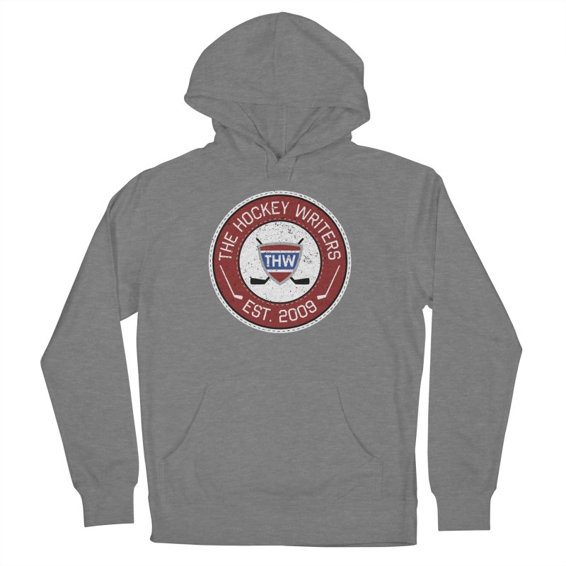The Hockey Writers round logo - dark items Women's French Terry Pullover Hoody by The Hockey Writers