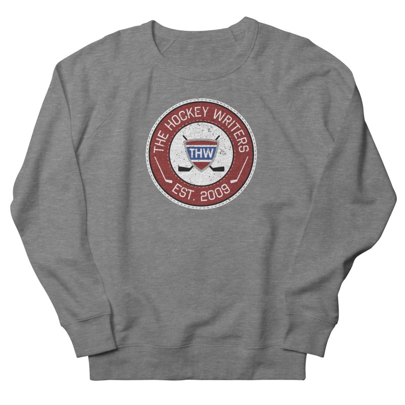 The Hockey Writers round logo - dark items Women's French Terry Sweatshirt by The Hockey Writers