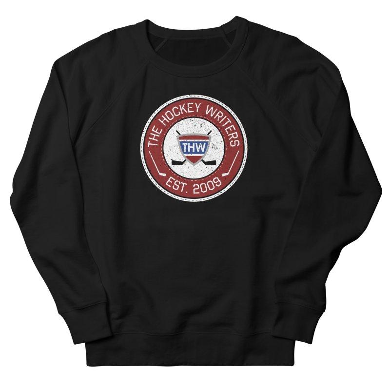 The Hockey Writers round logo - dark items Men's French Terry Sweatshirt by The Hockey Writers