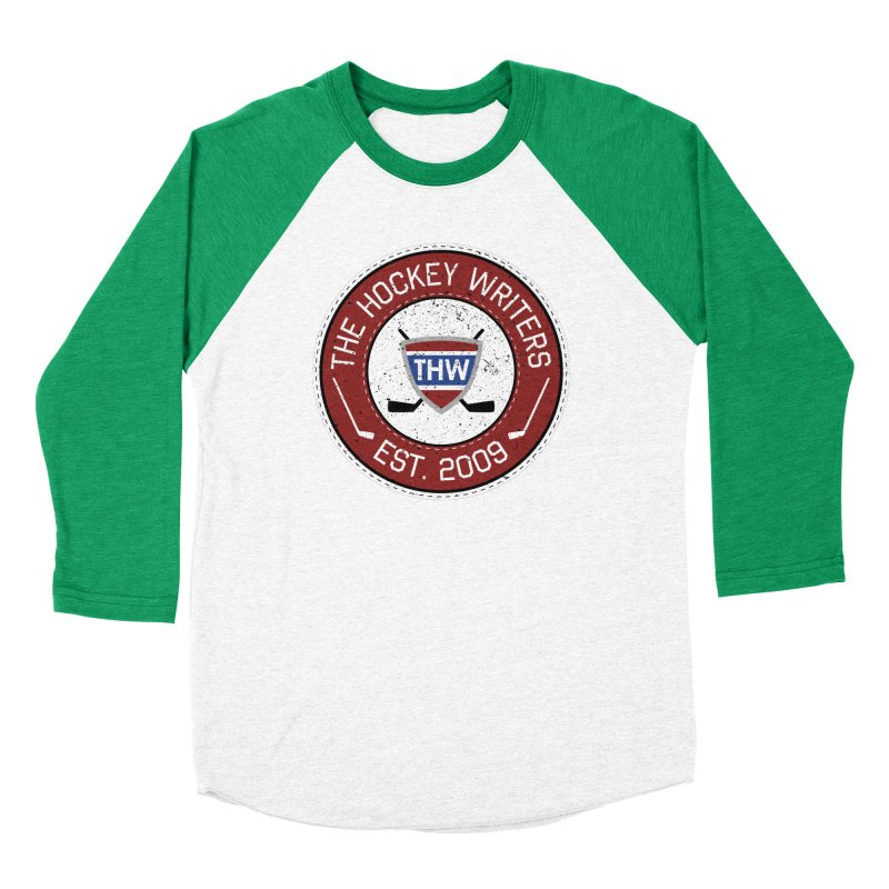 The Hockey Writers round logo - dark items Women's Baseball Triblend Longsleeve T-Shirt by The Hockey Writers