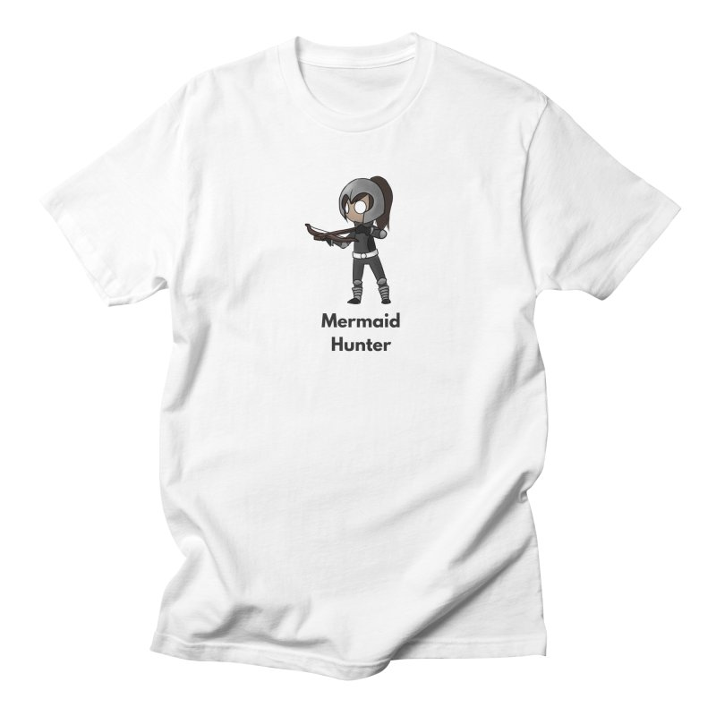 Mermaid Hunter Men's Regular T-Shirt by Official Ice Massacre Merch