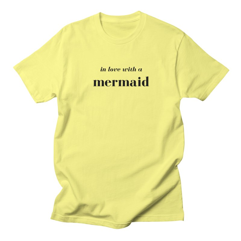 In love with a mermaid Men's T-Shirt by Official Ice Massacre Merch